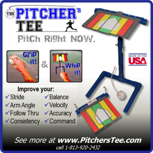 Baseball Dudes ad for Pitchers Tee