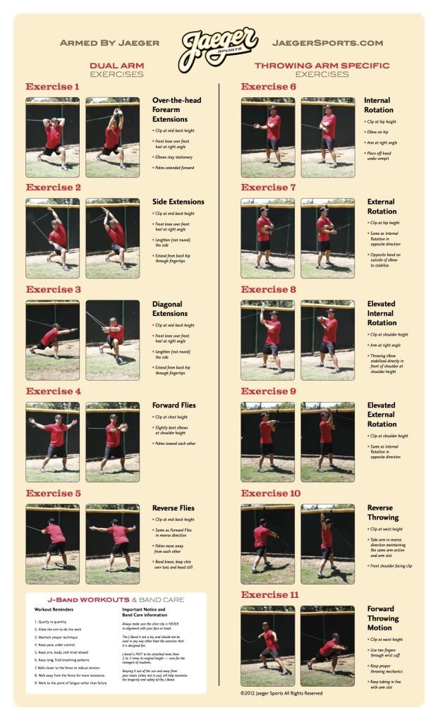 J Band Exercise Sheet